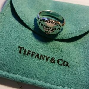 Vintage Return to Tiffany & Co. Sterling Ring